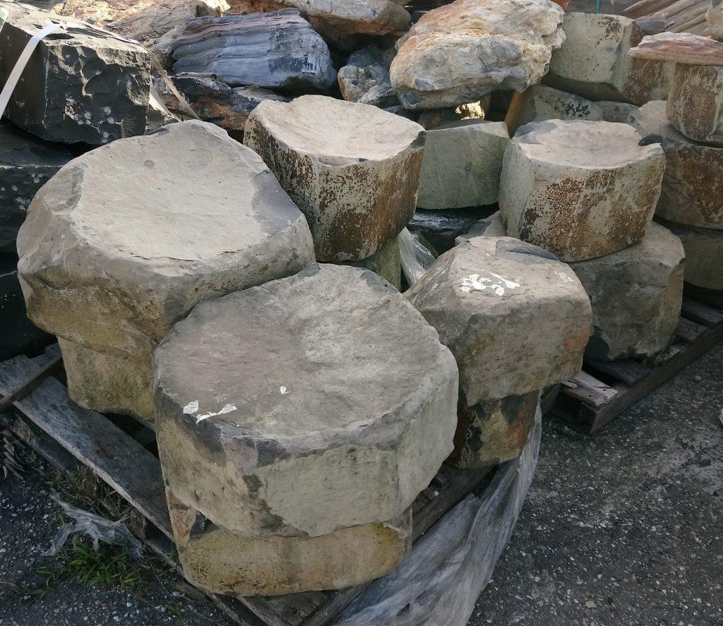 玄武岩(天然凹面)