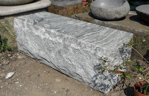 花崗岩塊狀石椅A
