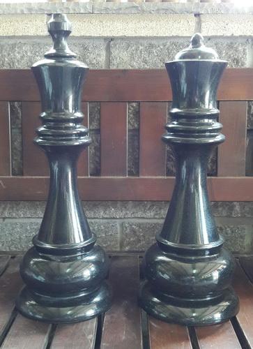 國王皇后西洋棋(印度黑)