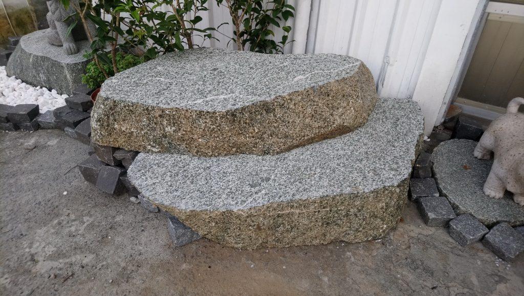 綠花崗石階(荔枝面)