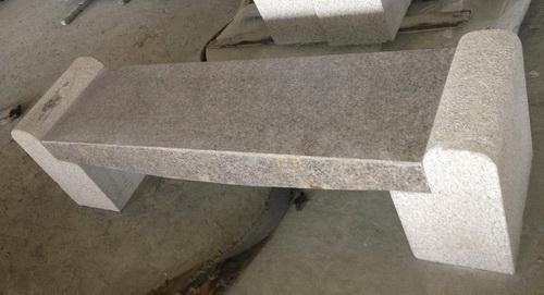 花崗岩V型石椅